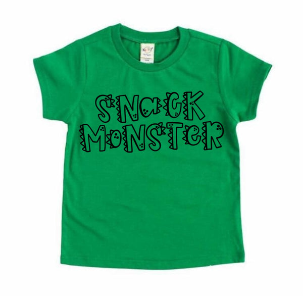 Snack Monster tee