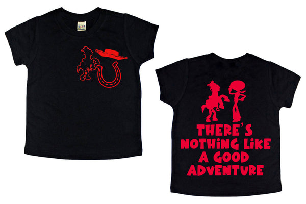 Adventure front/back tee