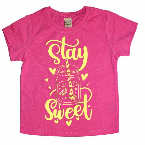 Stay Sweet tea/lemonade tee
