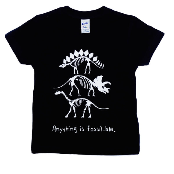 Anything is Fossil-ble dinosaur shirt