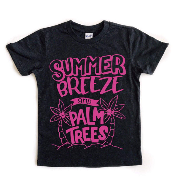 Summer Breeze and Palm Trees tee
