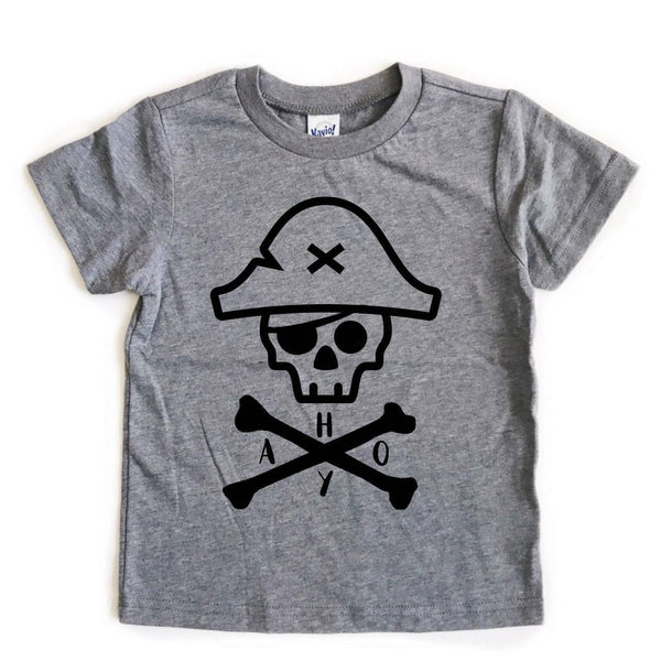 AHOY Pirate Skull tee