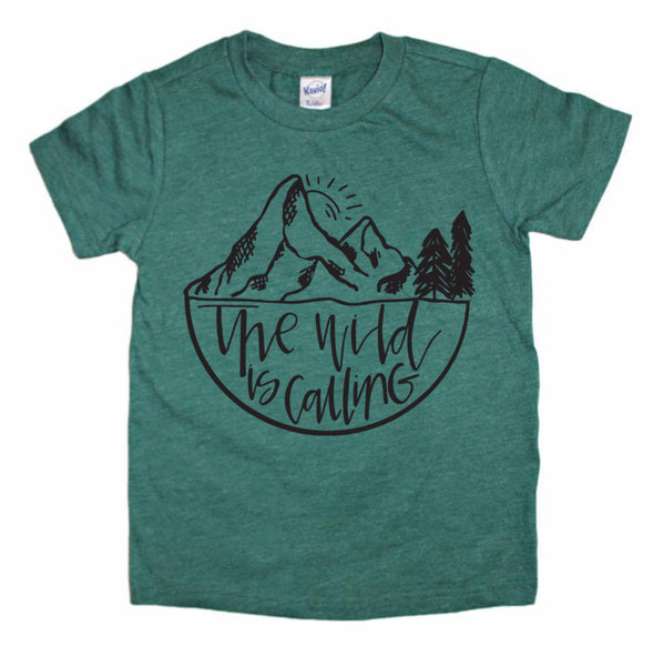 The Wild Is Calling tee