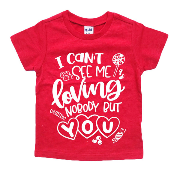 Candy Love Valentine's Day tee