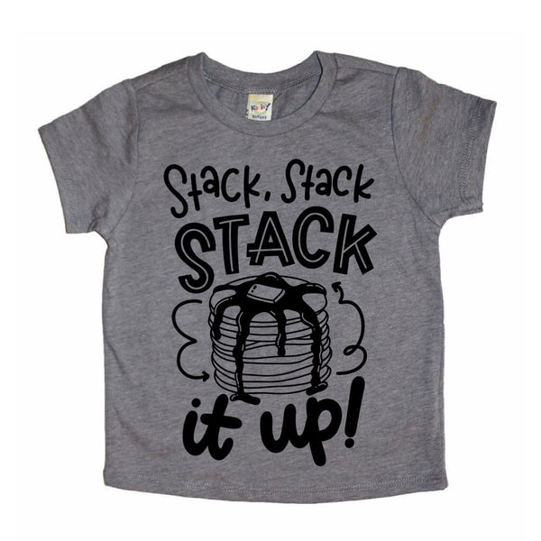 Stack it Up pancake tee