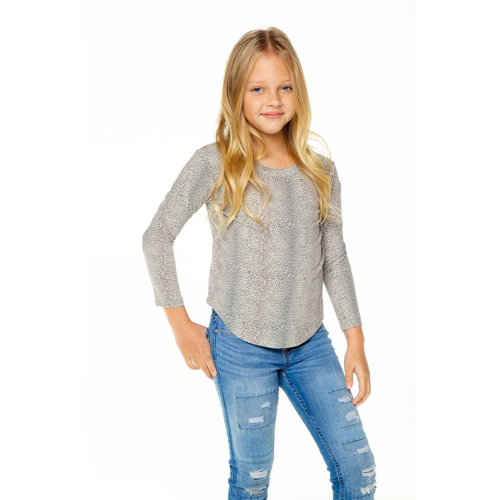 Chaser Kid Scoop Long Sleeve