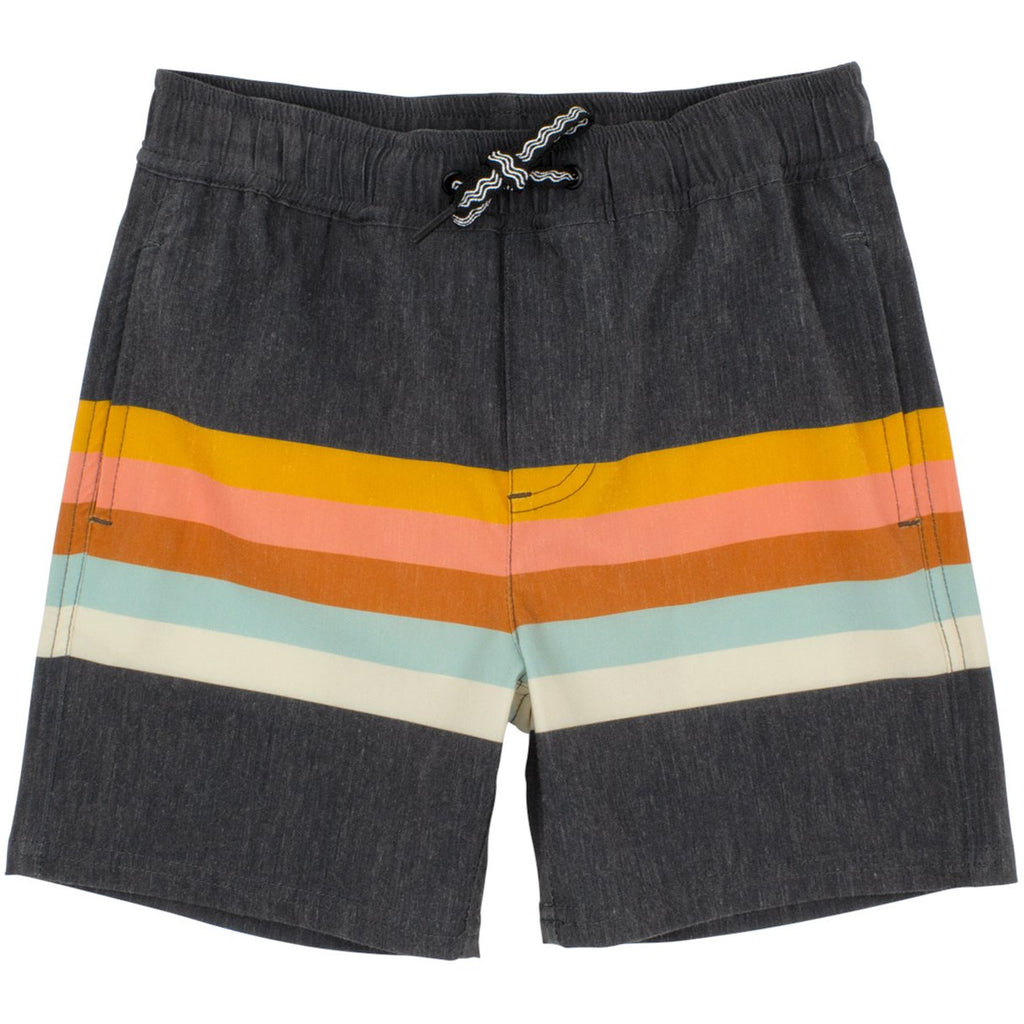 Feather 4 Arrow Vintage Stripe Boardshort