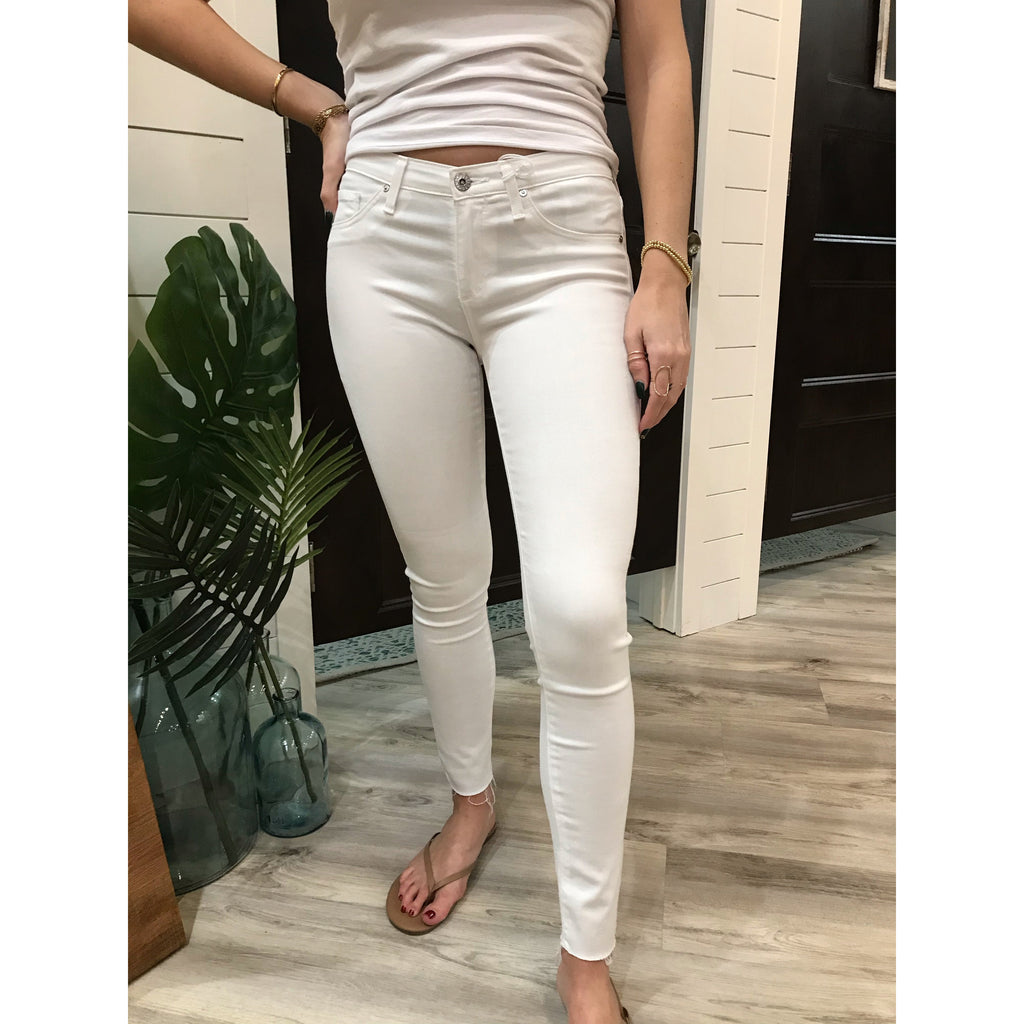 AG Legging Ankle White