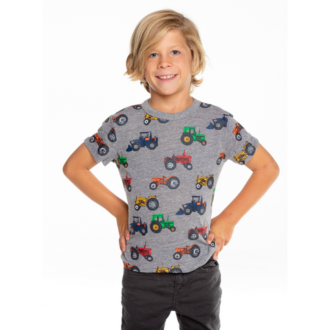 Chaser Kid Tractor Tee