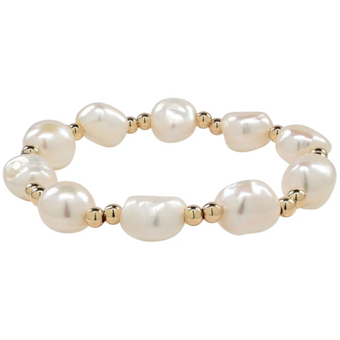 Sea Lustre Goldie Bracelet
