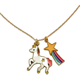 Sadie Moon Multi Charm Necklace
