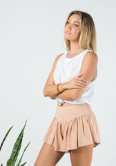 BAREFOOT BOHEMIAN Willow Shorts - vintage peach