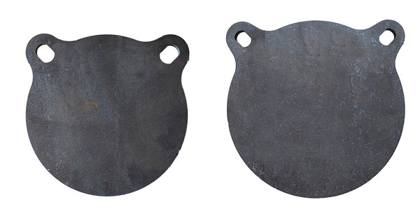"3/8"" AR500 Targets Set of 2- ONE 8"" and ONE 10"""
