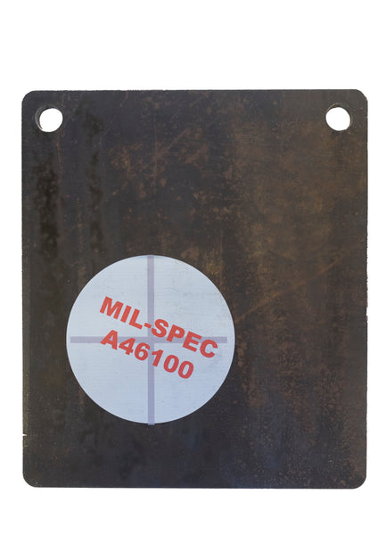 "3/8"" Mil-Spec A46100 Armor MFR Target - Field & Cave Outfitters"