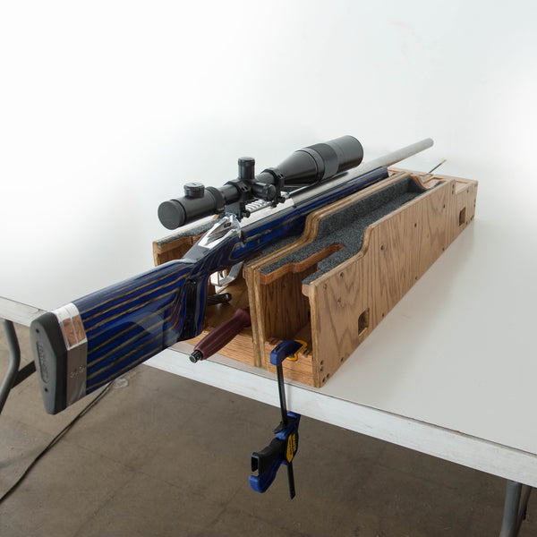 Rifle Cradles by Custom Shooting Accessories