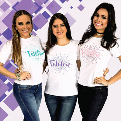 T-Shirt SPLASH para Damas