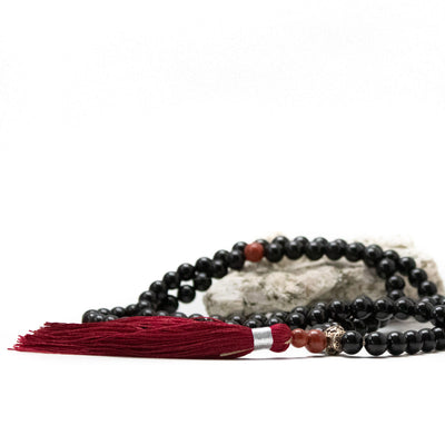 Mala with intention beads