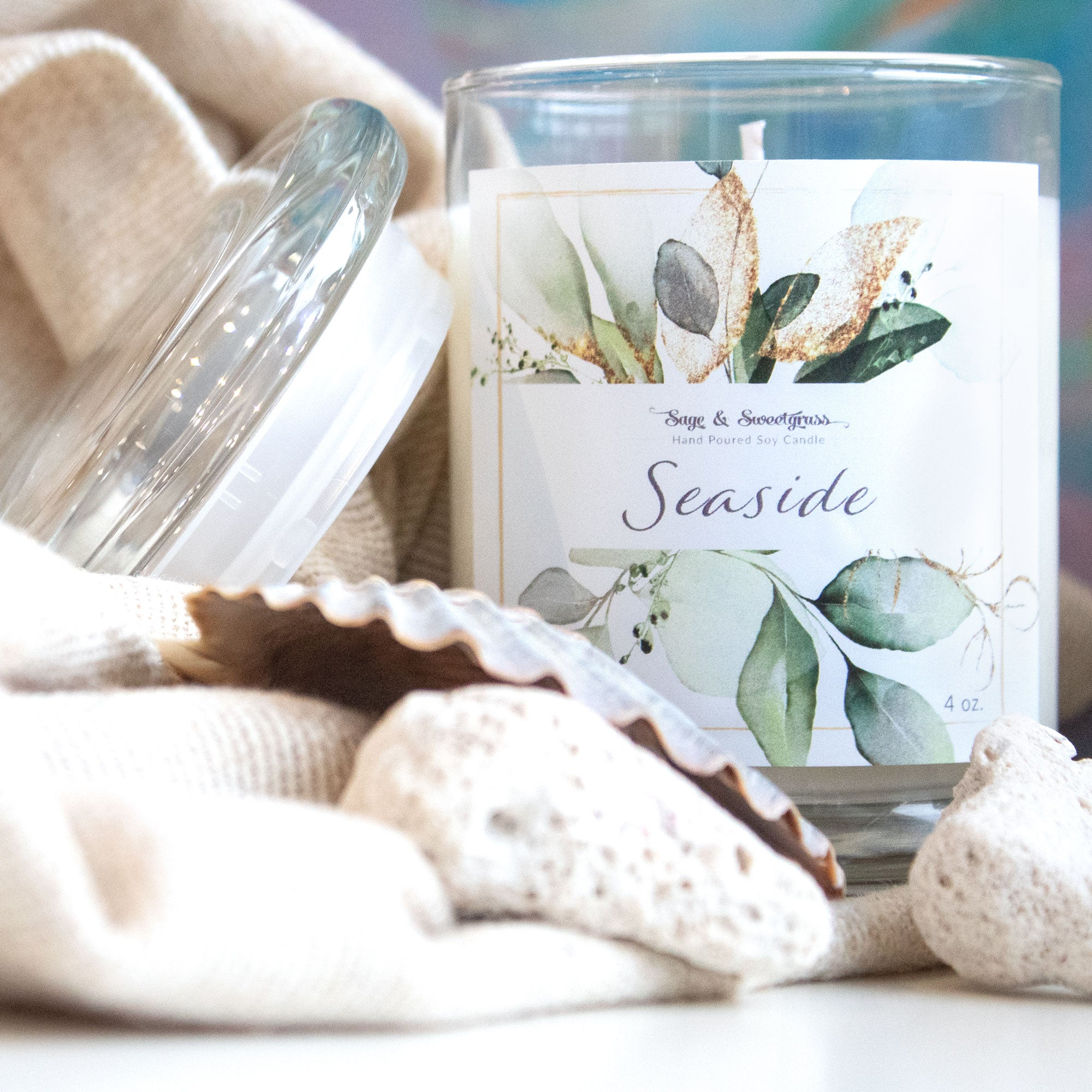 Seaside  Aromatherapy Candle