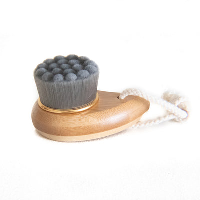 Small Bamboo Charcoal Facial Brush