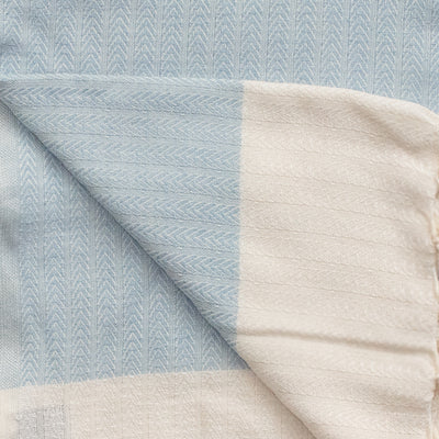 Turkish Towel (Peshtemal)  Delicate Fishbone Pattern