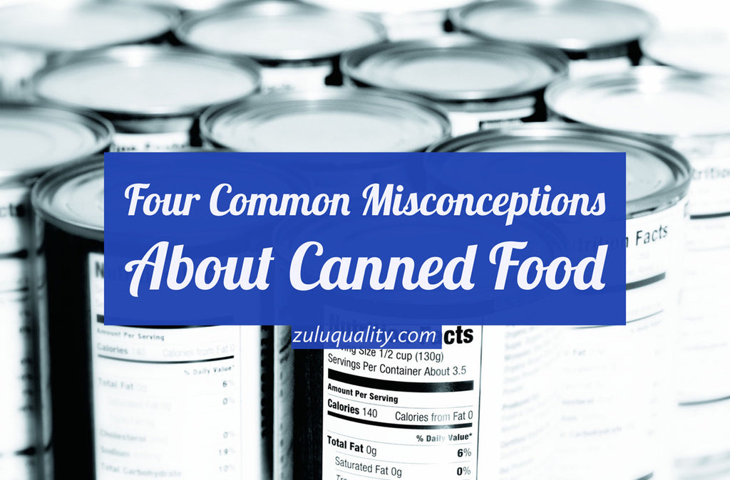 Four Common Misconceptions About Canned Food