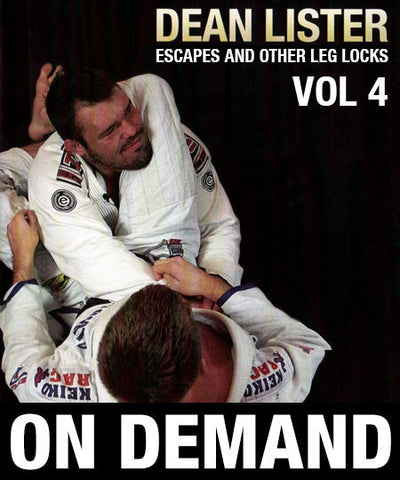 Cover Photo - K.A.T.C.H Leg Attack System Vol. 4 by Dean Lister (On Demand)