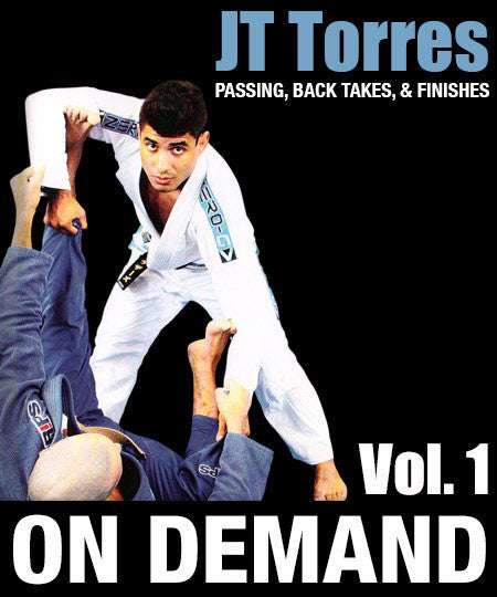 Cover Photo - Passing, Back Takes & Finishes Vol. 1 with JT Torres (On Demand)