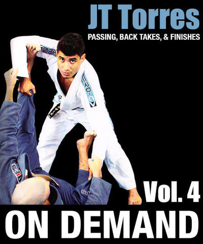 Cover Photo - Passing, Back Takes & Finishes Vol. 4 with JT Torres (On Demand)