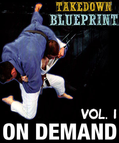 Cover Photo - The Takedown Blueprint Vol. 1 by Jimmy Pedro and Travis Stevens
