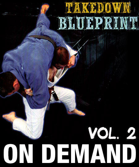 Cover Photo - The Takedown Blueprint Vol. 2 by Jimmy Pedro and Travis Stevens