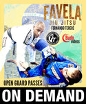 Cover Photo - Favela Jiu Jitsu - Open Guard Passes by Fernando Terere (On Demand)