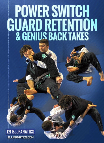 Power Switch Guard Retention & Genius Back Takes 4 DVD Set by Mikey Musumeci