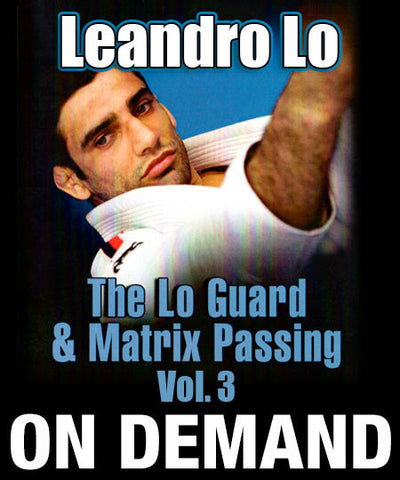 Cover Photo - The Lo Guard & Matrix Passing Vol. 3 by Leandro Lo (On Demand)