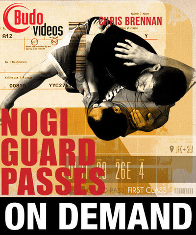 Nogi Guard Passes with Chris Brennan (On Demand)