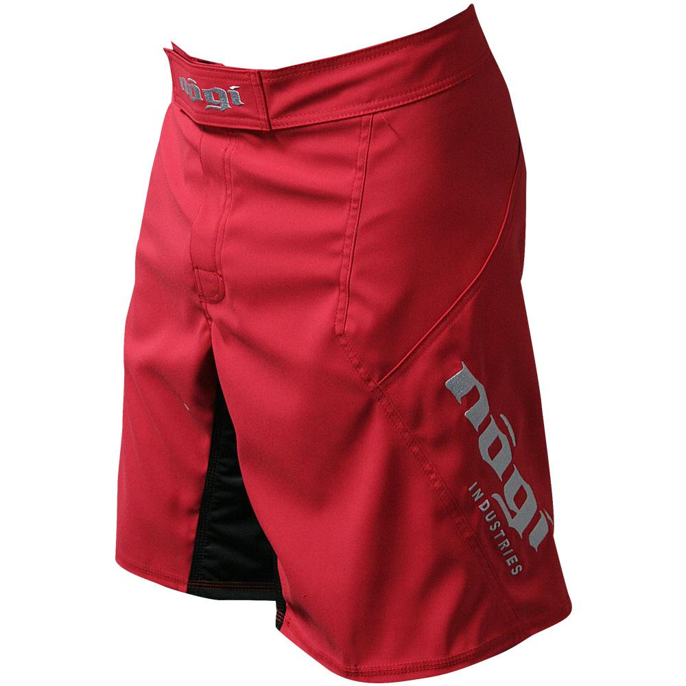 Nogi Industries Phantom 3.0 ファイトショーツ キャンディーアップルレッド 限定版 Phantom 3.0 Fight Shorts - Candy Apple Red by Nogi Industries - MADE IN USA - Limited Edition