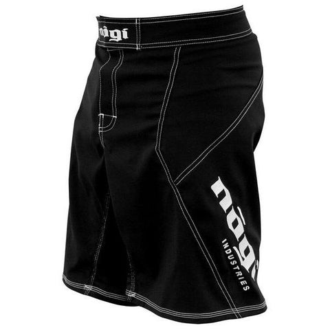 Nogi Industries Phantom 3.0 ファイトショーツ ブラック Phantom 3.0 Fight Shorts - Black by Nogi Industries - MADE IN USA