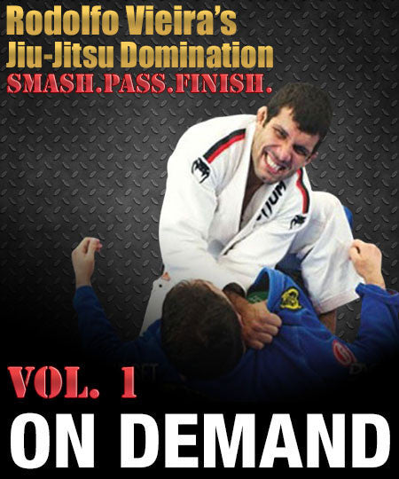 Cover Photo - Rodolfo Vieira Jiu-Jitsu Domination Vol1 (On Demand)