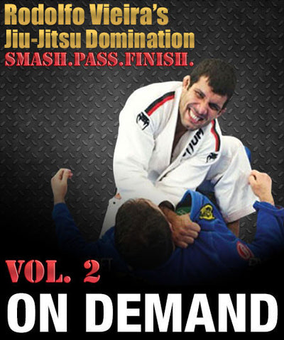 Cover Photo - Rodolfo Vieira Jiu-Jitsu Domination Vol2 (On Demand)