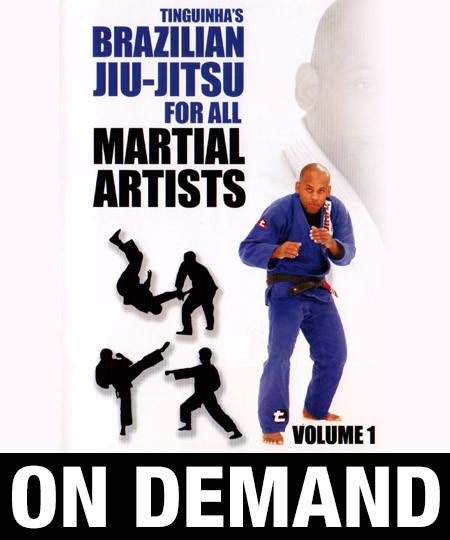 "Mauricio ""Tinguinha"" Mariano - Brazilian Jiu Jitsu for All Martial Artists (On Demand) - Budovideos"