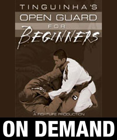 "Mauricio ""Tinguinha"" Mariano - Open Guard for Beginners (On Demand)"