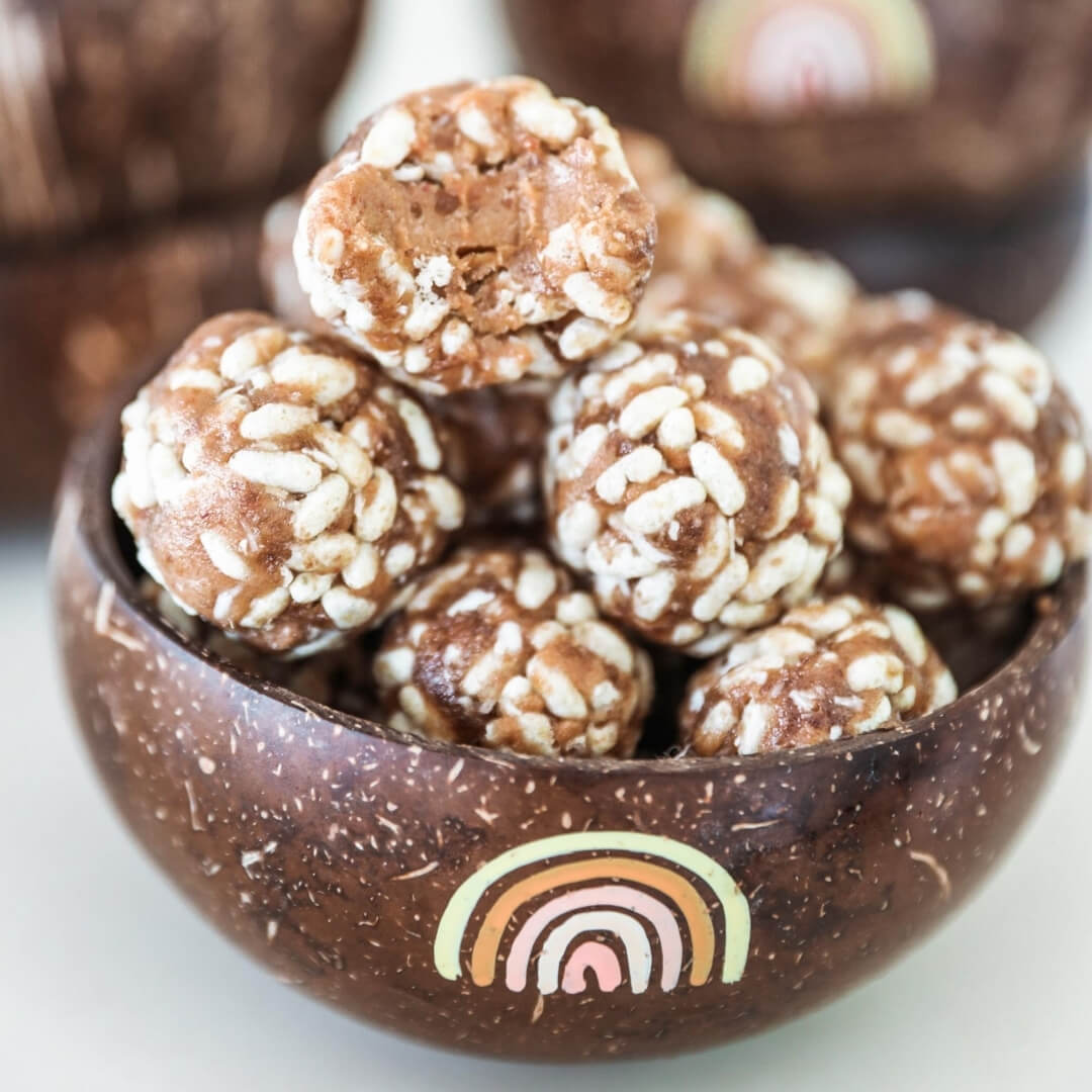 Salted Caramel Coconut Energy Balls