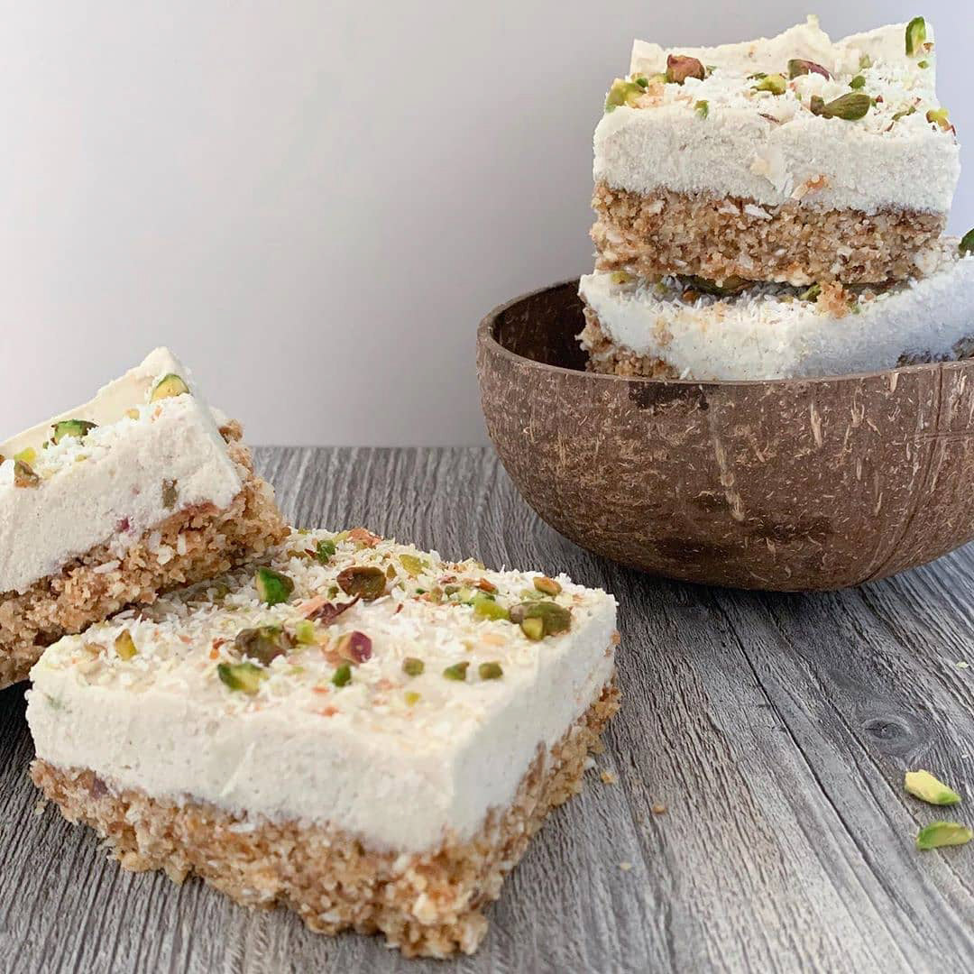 No-bake Lime Bars