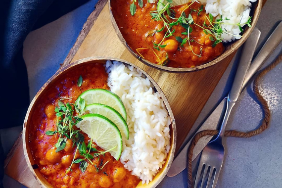 Lentil & Chickpea Curry