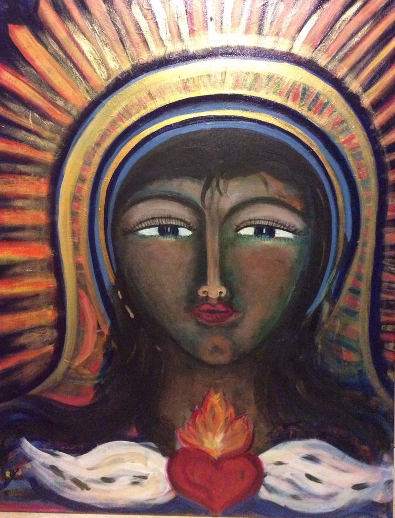 Wisdom Fire - A Two Day Intuitive Painting Retreat