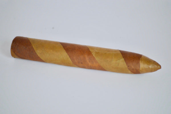 "TORPEDO DOUBLE WRAPPER Single 6"" x 54 Filler: Nicaragua - Wrapper: Habana seed/Connecticut - Binder: Ecuador"