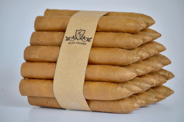 "TORPEDO  NATURAL Bundle 6"" x 54 Filler: Nicaragua - Wrapper: Connecticut - Binder: Ecuador"