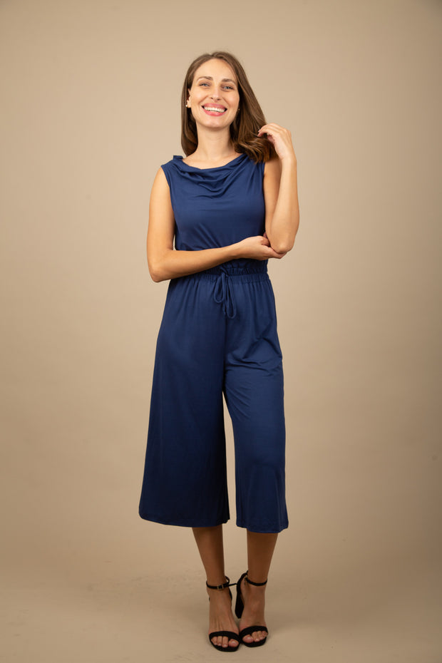 Jump Suit Ankle Liso