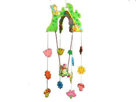 Wooden Fairy Mobile