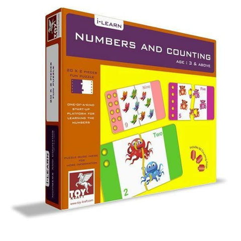 Numbers and Counting by Toy Kraft