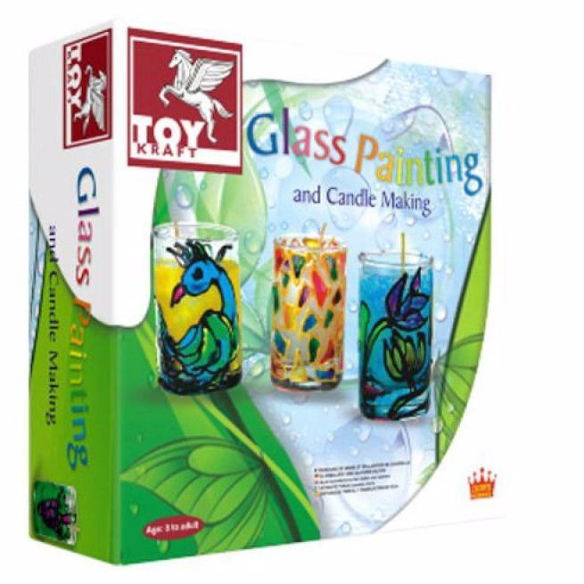Glass Painting & Candle Making
